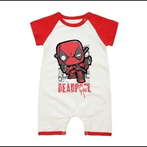 Other - Baby rompers Deadpool baby clothes